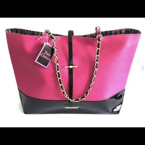CLEAROUT NWOT Juicy Couture XL Patent Tote